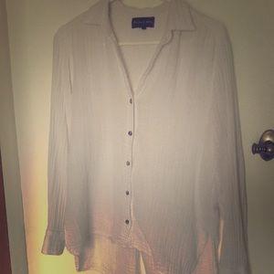 Soft white Michael Stars blouse